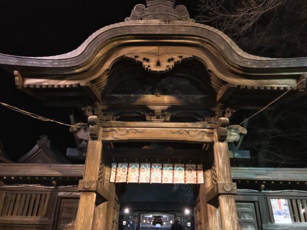 宇都宮二荒山神社の門
