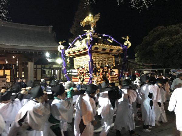 宇都宮二荒山の本社神輿