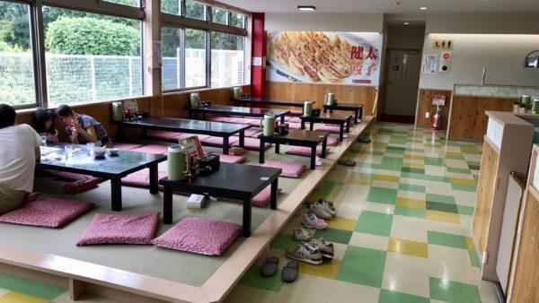 宇都宮餃子館のお座敷