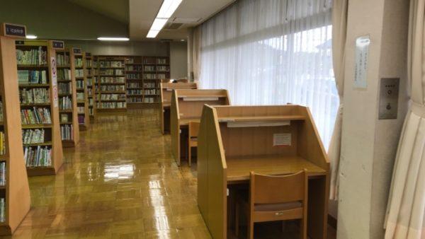 上河内図書館の座席