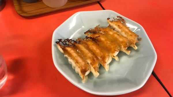 みんみん本店の焼き餃子
