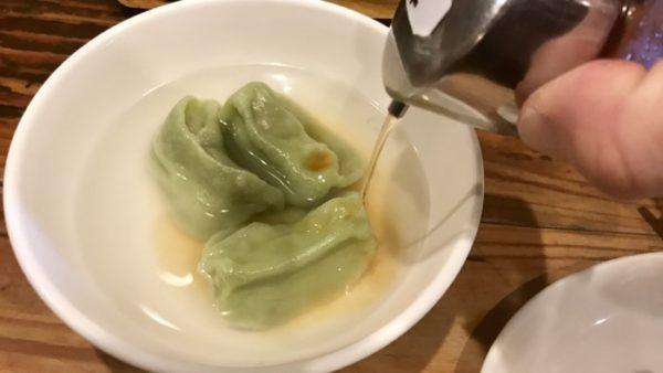 水餃子のタレ