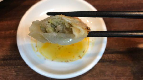 香蘭の餃子
