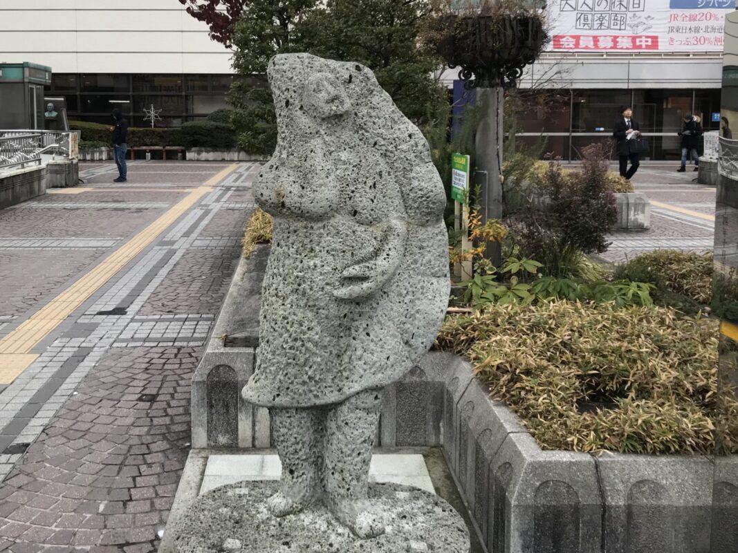 宇都宮餃子像