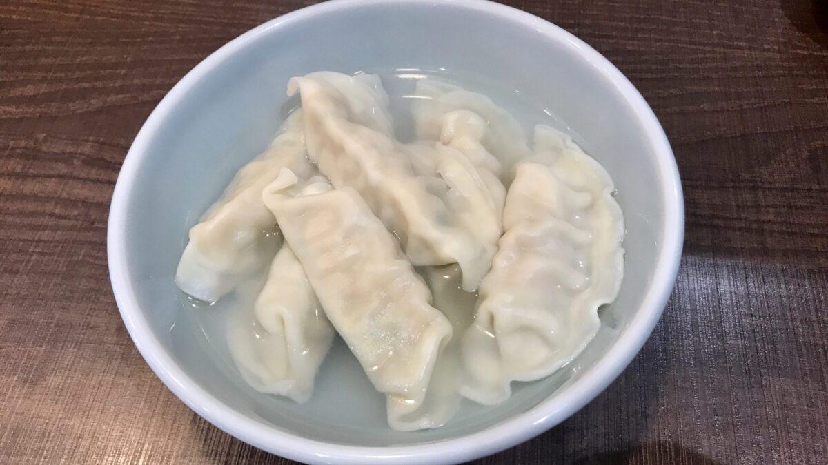 みんみん真岡店の水餃子
