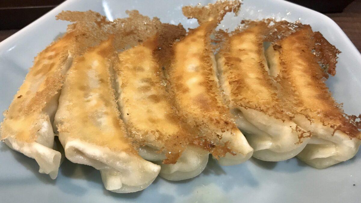 みんみん真岡店の焼き餃子