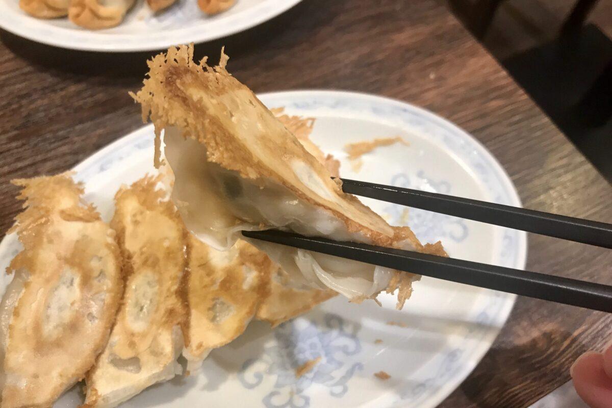 典満餃子の焼き餃子