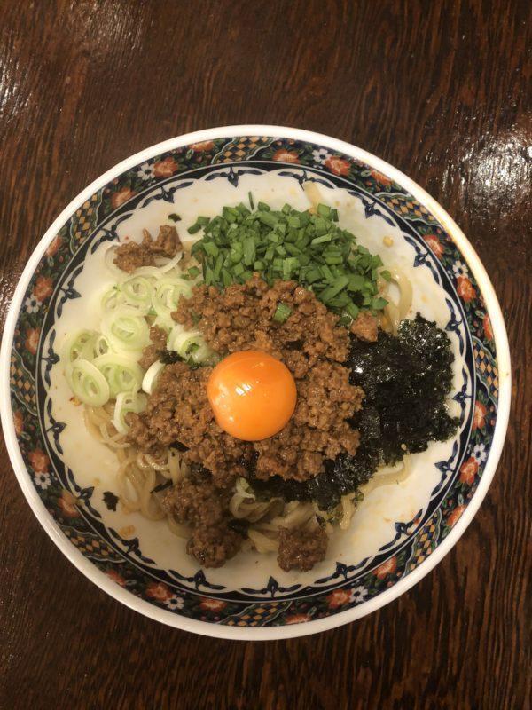 タンタン本舗の麺