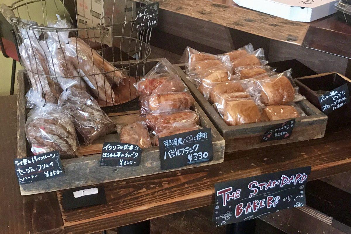 ザスタンダードベイカーズのパン