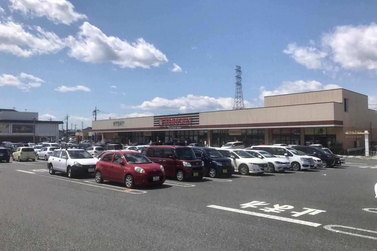 みんみん高根沢店駐車場