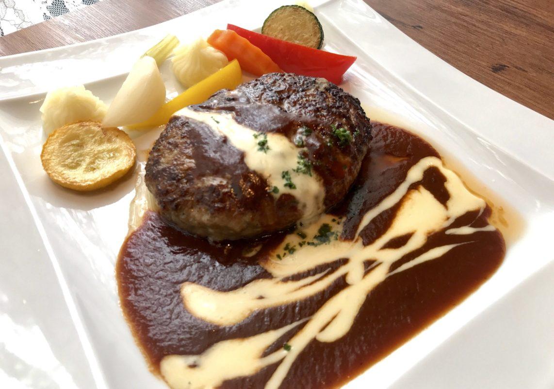 ペニーレイン レストラン宇都宮店のハンバーグ