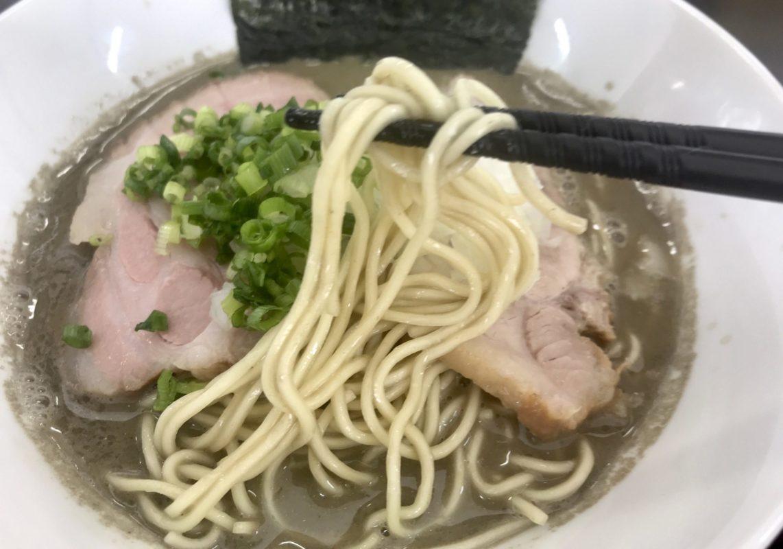 三和中華ソバ店の煮干しラーメン