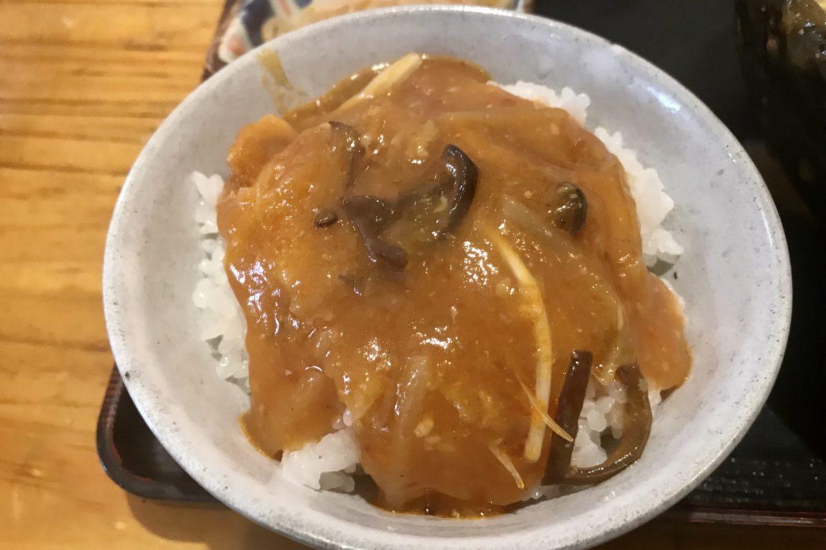 幸麵の味噌チゲ丼