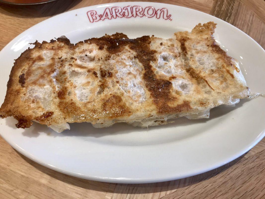 バリロンの焼き餃子