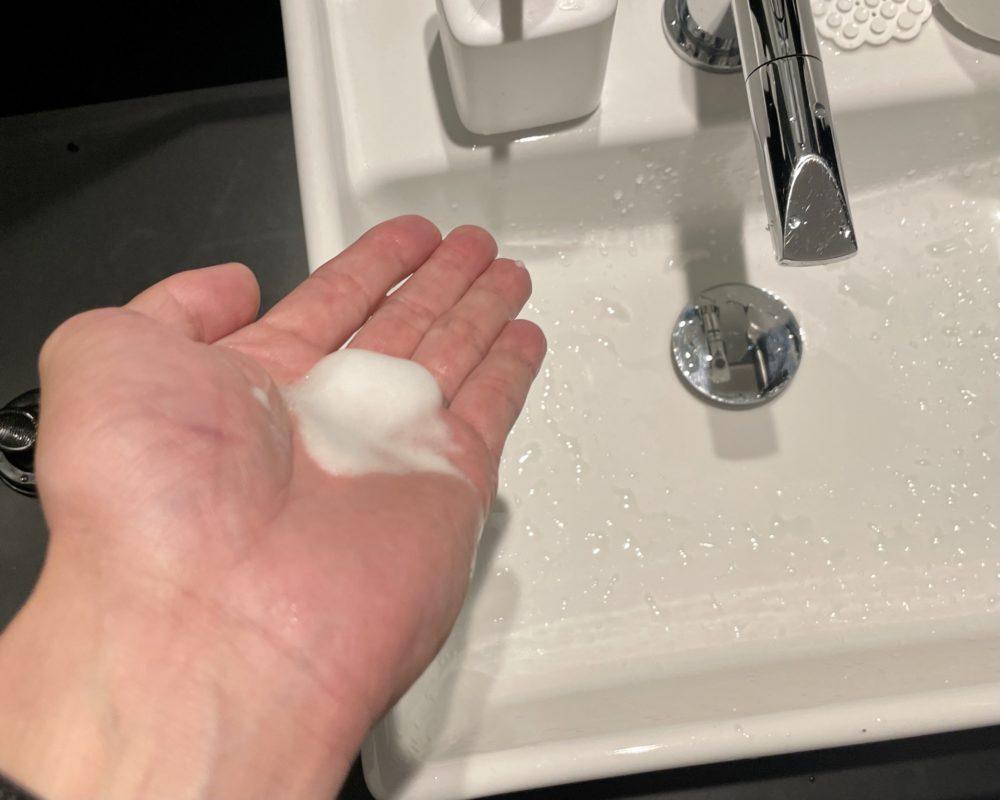 脱毛前の洗顔