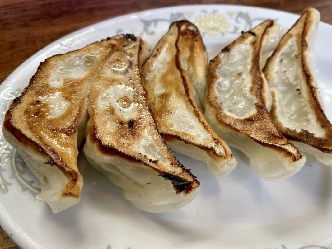 鵜の木の焼き餃子