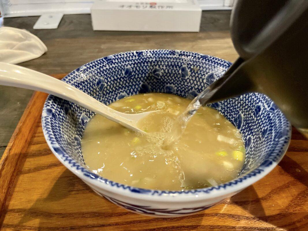 オオモリ製作所でスープ割