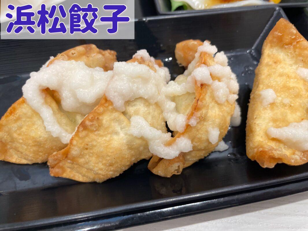浜松餃子の揚げ餃子を宇都宮餃子と比べる