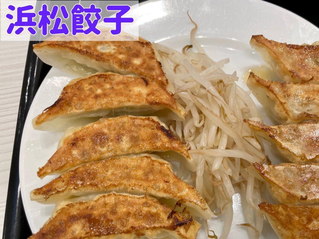 浜松餃子の焼き餃子を宇都宮餃子と比べる