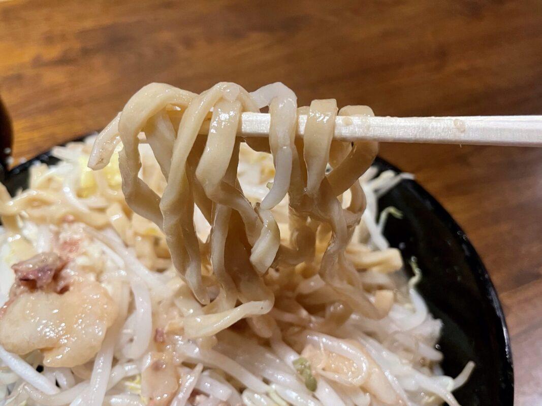 ラーメンジャンクスのワシワシ麺