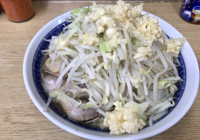 二郎栃木街道店のラーメン