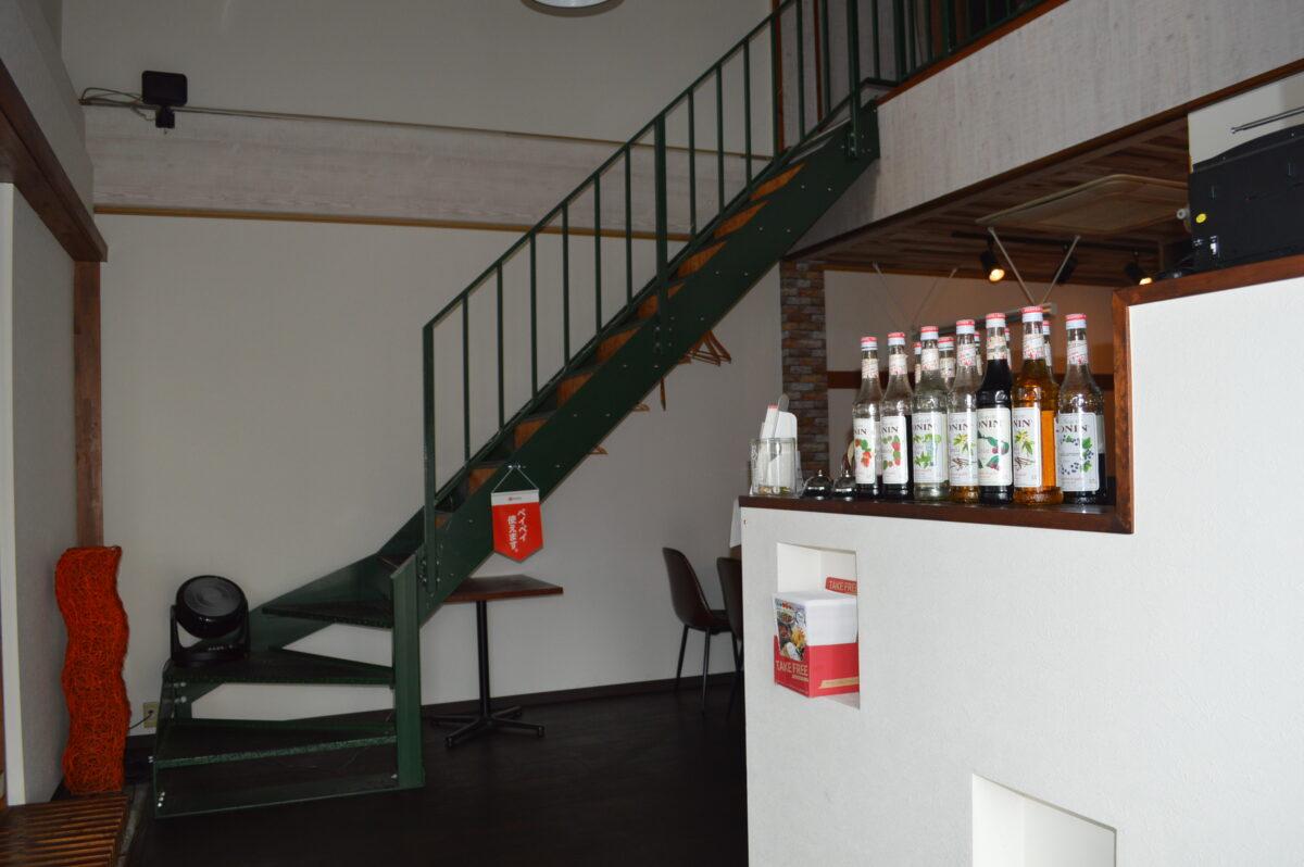 コモドダイニングヒノの2階