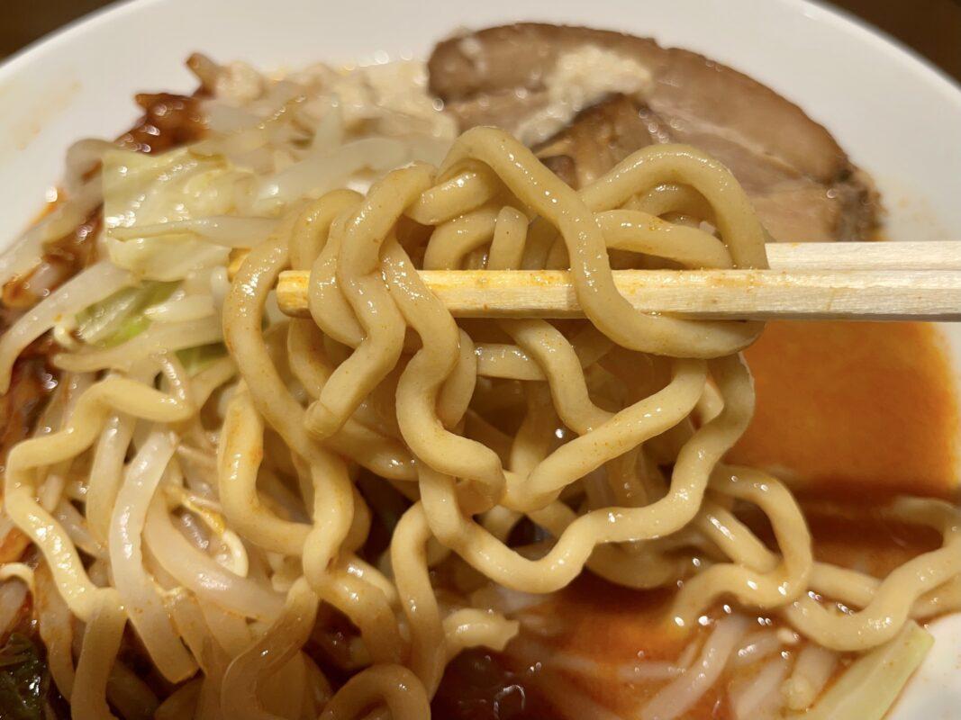 ホシジロの麺