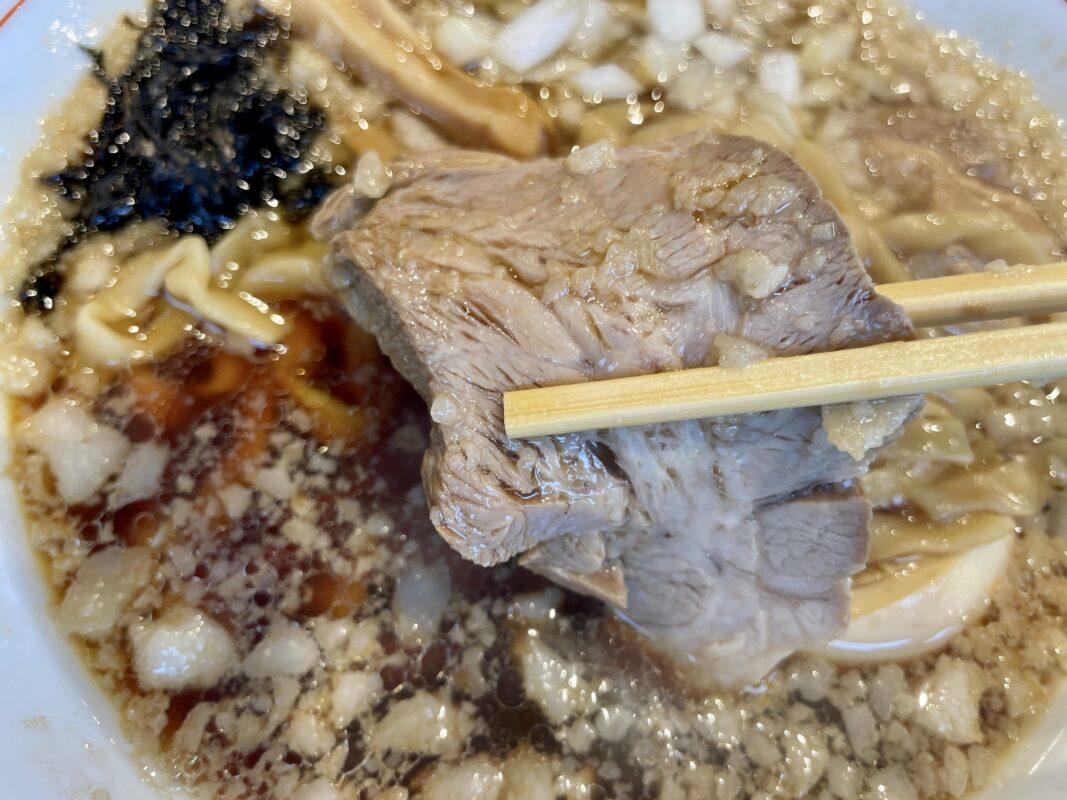 背脂煮干しらーめんと豚丼誠のチャーシュー