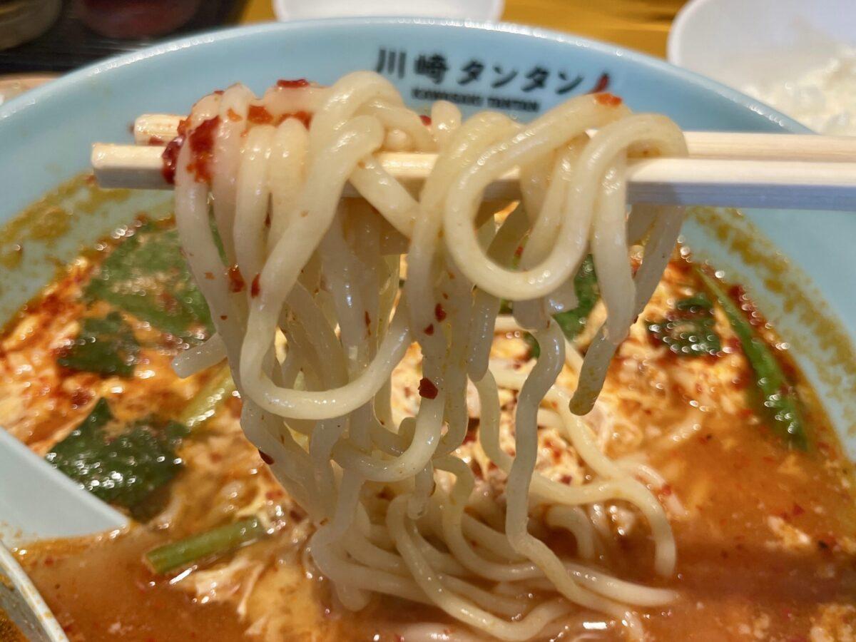 川崎タンタンの麺