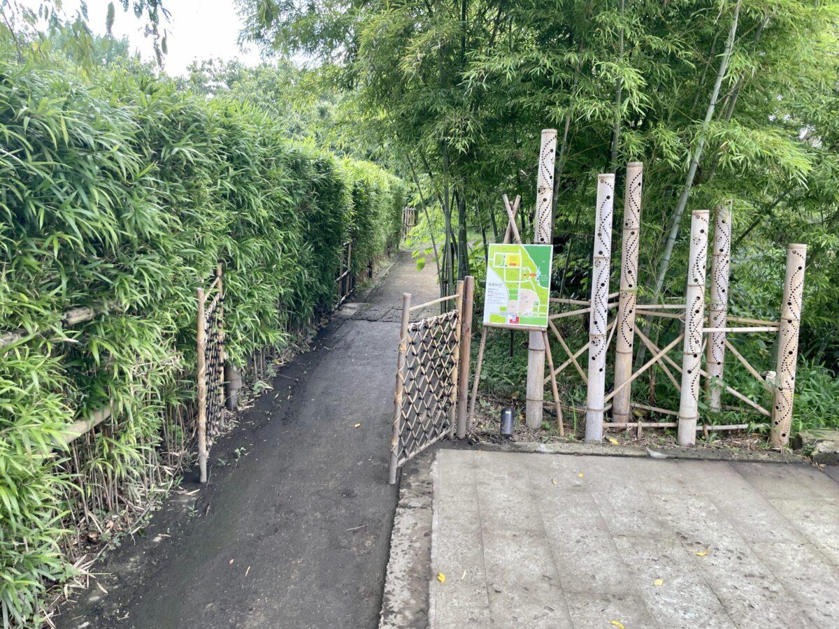 若竹の杜 若山農場の入り口