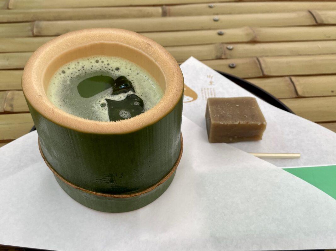 若竹の杜 若山農場の抹茶