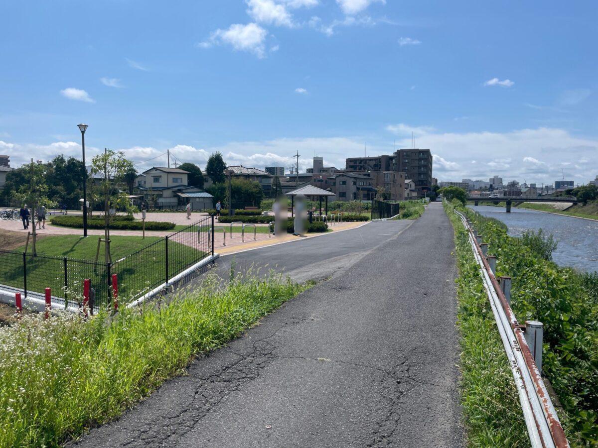 田川から水上公園