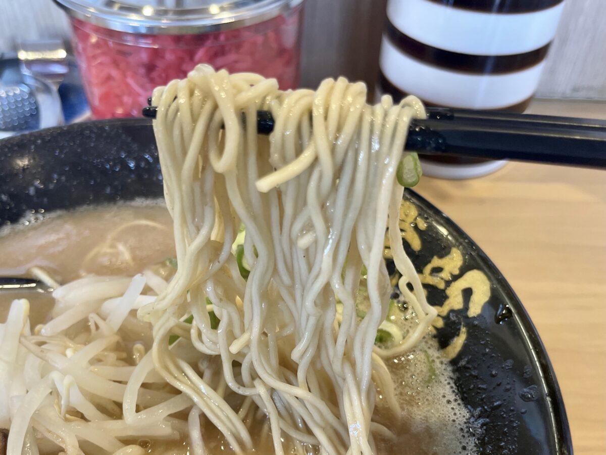 麺屋虎龍(こたつ)の麺