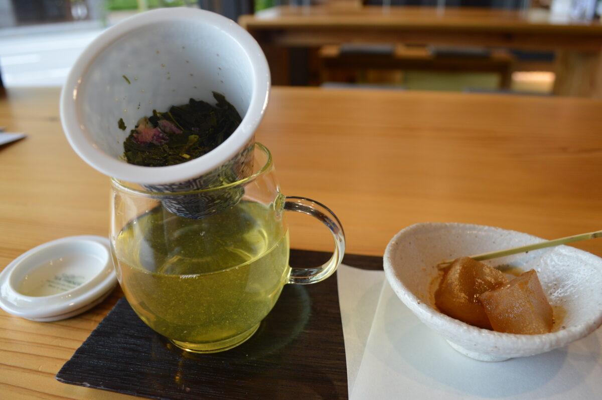 リアン茶屋のお茶