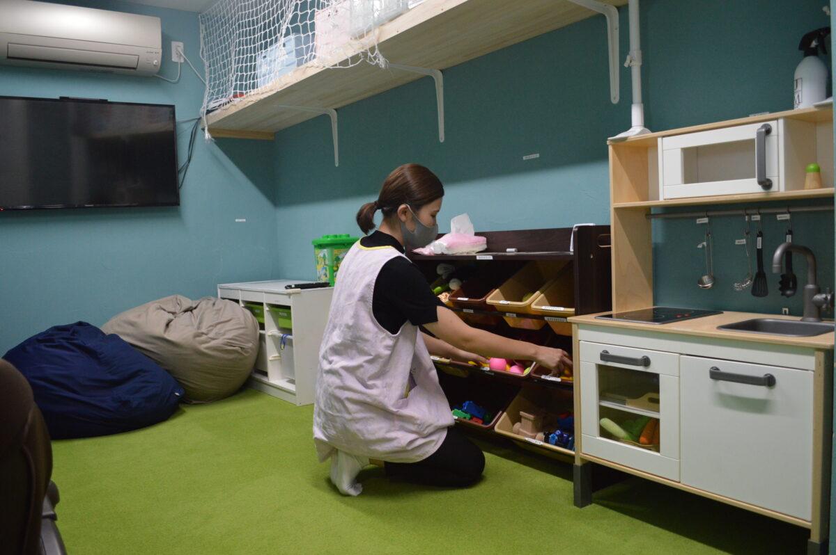 リアン茶屋の託児施設