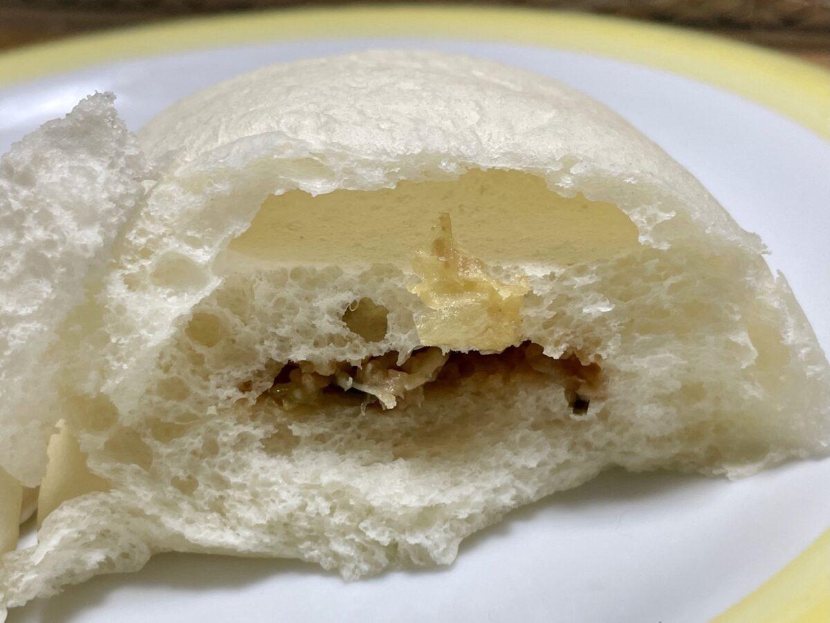 餃子みたいなパンの案