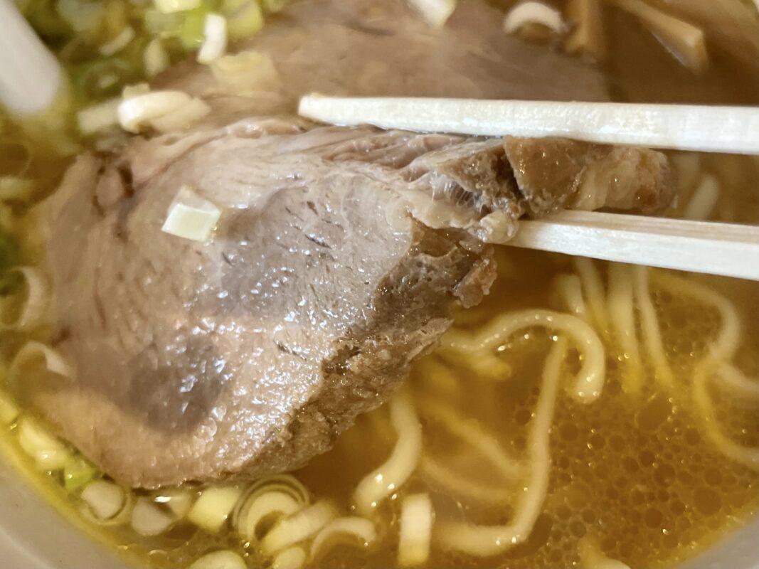 中華蕎麦しのざき江曽島店のチャーシュー