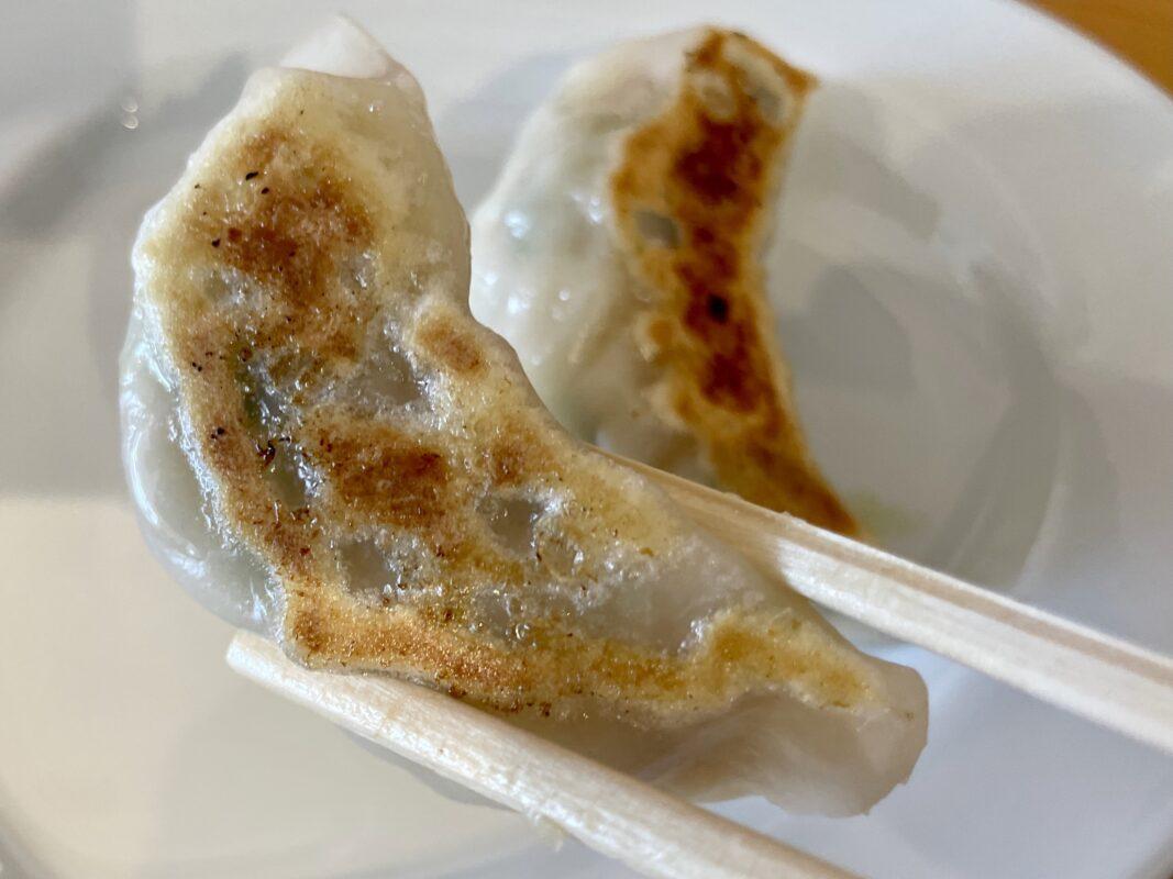 中華蕎麦しのざき江曽島店の餃子