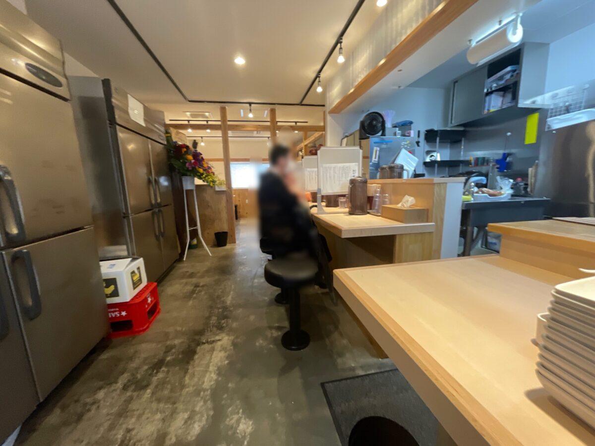 麺屋みや田の店内